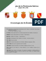 Cronología de La Península Ibérica