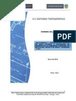 Estudio Topografico Llacharapi Chico