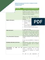 Requerimientos de evaluación