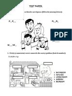 Test Paper 2 Oct 2016