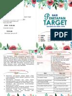 Buku Program Hari Penetapan Target