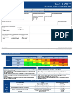 Field Work Risk Assessment Form