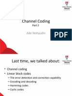 Materi 5 - Channel Coding - Convolutional codes.pptx