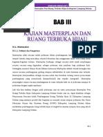 5. Bab III Kajian Masterplan & Ruang Terbuka Hijau