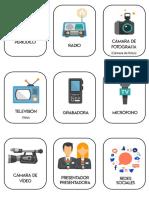 Flashcards Medios Comunicacion