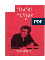 YılmaZ Güney Siyasal Yazılar CİLT-III