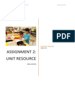 assignment 2 unit resource