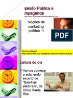 Noções de Marketing Político - 1