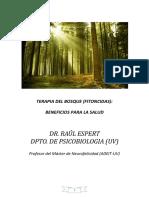 Terapia del bosque