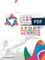 INTERNATIONAL CONFERENCE SPORT SCIENCE 2016 UNESA