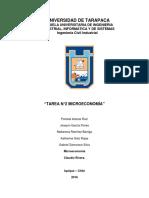 1.- TAREA N°2 MICROECONOMIA