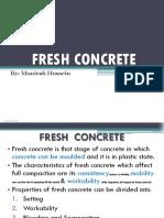 Chap.1 7 Fresh Concrete