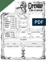 Eirendor - Hoja de Personaje Editable