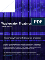 Wastewater Treatment ( Secondary)