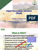 Rapid Generation Advance (RGA)