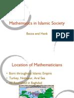 Mathematics in Islam