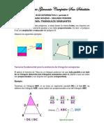 Guía Informativa 1- Noveno Triángulos semejantes