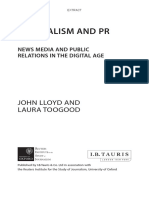 Journalism and PR - News Media and Public Relations in the Digital Age_Extract