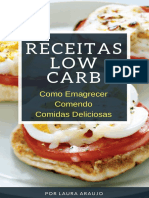 Receitas Low Carb - Como Emagrecer Comendo Comidas Deliciosas