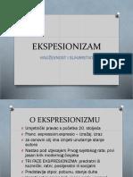 EKSPESIONIZAM prezentacija