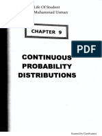 Book Introduction to statistical theory ch 09