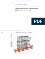 Balcão Aramado Preto Estante Prateleira Armário Expositor - R$ 129,70 no MercadoLivre