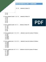 Math II Año Guia 1 Refuerzo Sucesiones