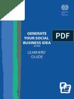 Generate Your Social Business Idea (GYSBI)