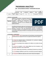 Programa PRQ 850