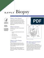 Pamphlet Liver Biopsy
