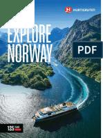 Hurtigruten Norway Brochure 2018 19