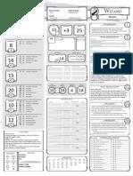 456029-Class Character Sheet Wizard V1.2 Fillable