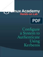 Hands-On Lab Configure a System to Authenticate Using Kerberos