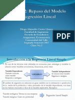 Clase No 2. Repaso Modelo de Regresión Lineal