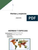 Catalogo Hierbas y Especias