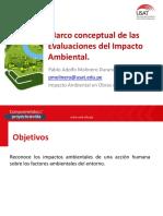 Sesión 1 Marco Conceptual de Las Evaluaciones de Impacto Ambiental