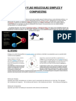 El Atomo y Las Moleculas Simples y Compuestas