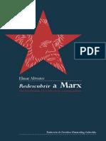 ALTVATER, Elmar - Redescubrir a Marx