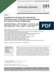 Actualización en El Manejo de La Infección Por Helicobacter Pylori