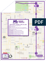 March of Dimes 2018 Route Map