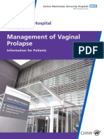 10 124 Management of Vaginal Prolapse