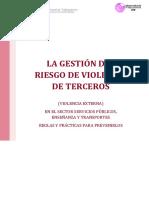 LA GESTIÓN DEL RIESGO DE VIOLENCIA DE TERCEROS