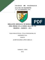 Tesis_Modelamiento hidrológico e hidráulico de la cuenca del río Higueras - Huánuco _javier Lopez Cabello.