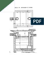 Modelo de Separador de Grasas, Norma Sanitaria-Gaceta Oficial 4044