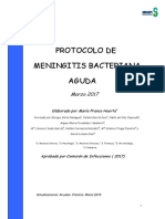 Protocolo Meningitis De Marzo 2017