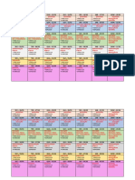 Cronograma de Estudo