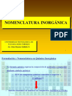 FORMULACION inorgánica 1