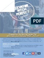 elevator pitch perfect flyer