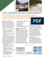 Shesh Kafle Community Resilience