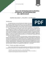 La experiencia de integracion europea y el potencial de integracion del mercosur.pdf